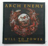Arch Enemy - 'Will To Power' Woven Patch